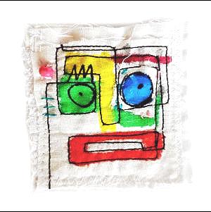 abstrakt brosche