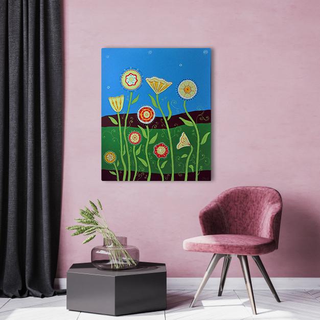 Modifizierte Blumen 1