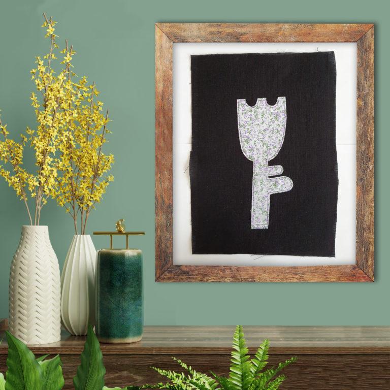Blume der Zukunft 14 by Beata Maria Zdyb