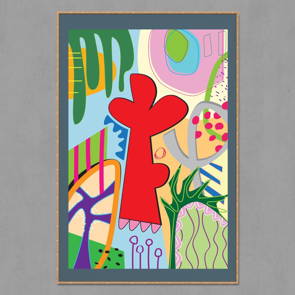 Pop art Flower